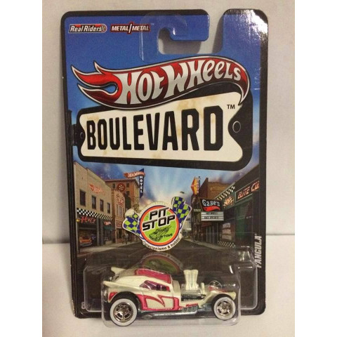 Hot Wheels - Fangula Branco - Boulevard