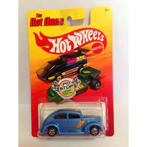 Hot Wheels - Fat Fendered 40 Azul - Hot Ones