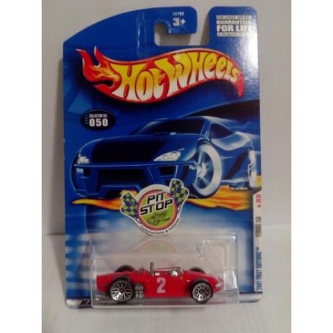 Hot Wheels - Ferrari 156 Vermelho - Mainline 2001