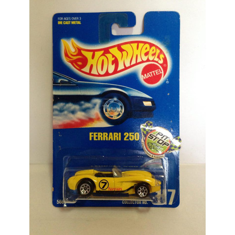 Hot Wheels - Ferrari 250 Amarelo - Mainline 1992
