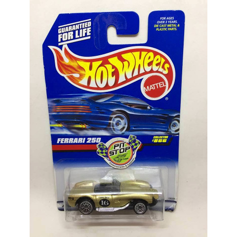 Hot Wheels - Ferrari 250 Dourado - Mainline 1998