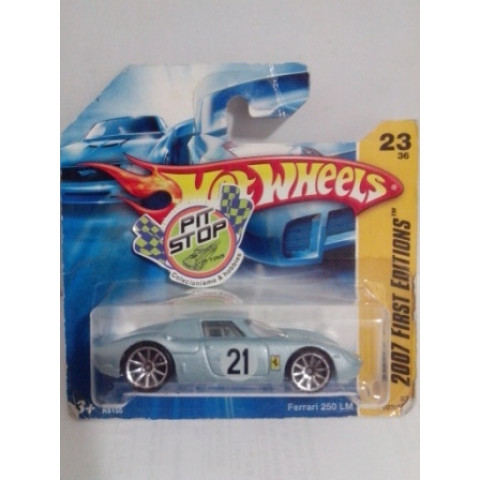 Hot Wheels - Ferrari 250 LM Prata - Mainline 2008