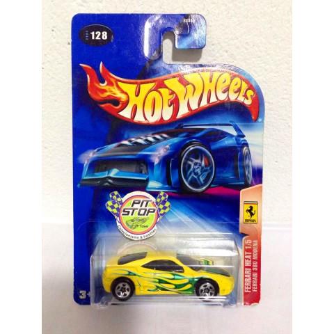 Hot Wheels - Ferrari 360 Modena Amarelo - Mainline 2004