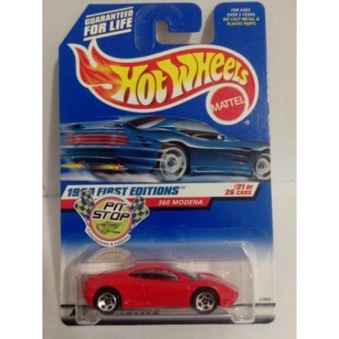 Hot Wheels - Ferrari 360 Modena Vermelho - Mainline 1999