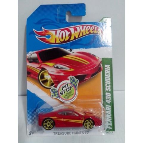 Hot Wheels - Ferrari 430 Scuderia - Thunt Normal 2012