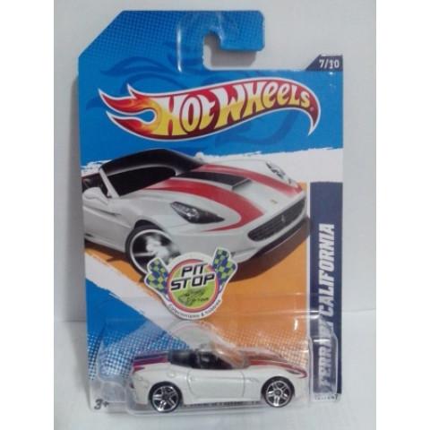 Hot Wheels - Ferrari California Branco - Mainline 2012