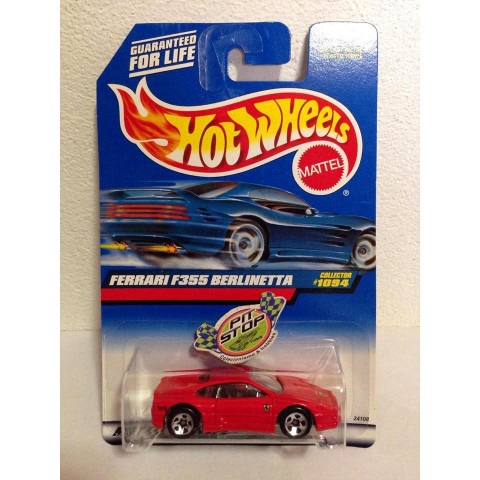 Hot Wheels - Ferrari F355 Berlinetta Vermelha - Mainline 1999