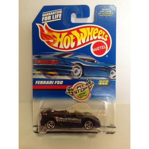 Hot Wheels - Ferrari F50 Roxa - Mainline 1998
