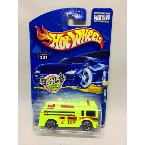 Hot Wheels - Fire-Eater Verde - Mainline 2001