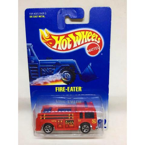 Hot Wheels - Fire-Eater Vermelho  - Mainline 1992