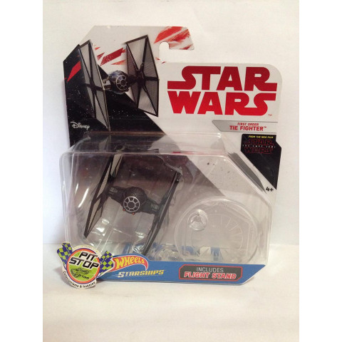 Hot Wheels - First Order Tie Fighter - White Card - Star Wars
