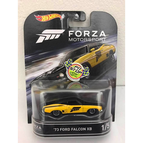 Hot Wheels - Ford Falcon Amarelo - Forza Motorsport - Retro