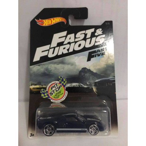 Hot Wheels - Ford GT-40 Azul - Fast & Furious - 2016