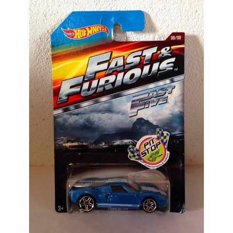 Hot Wheels - Ford GT-40 Azul - Fast & Furious