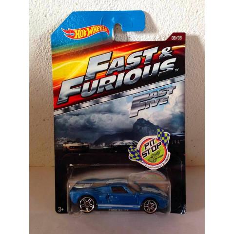 Hot Wheels - Ford GT-40 Azul - Fast & Furious