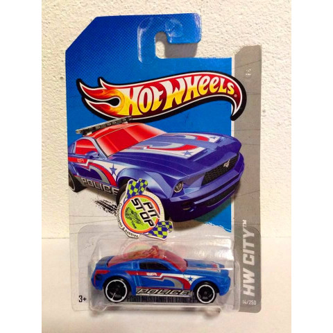 Hot Wheels - Ford Mustang GT Concept Azul - Treasure Hunt 2013