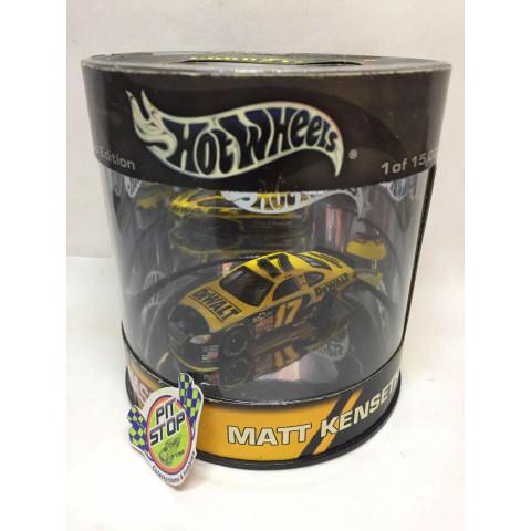 Hot Wheels - Ford Taurus Amarelo - Matt Kenseth - Oil Can - Nascar