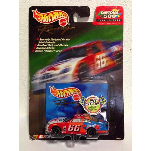 Hot Wheels - Ford Taurus Branco_Vermelho - Daytona 500 - Racing