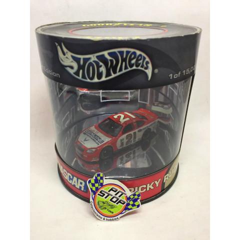 Hot Wheels - Ford Taurus Vermelho - Ricky Rudd - Oil Can - Nascar