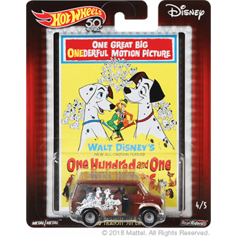 Hot Wheels - Ford Transit Super Van - 101 Dálmatas - One Hundred and One Dalmatians - Disney