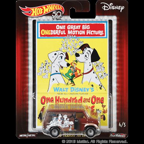 Hot Wheels - Ford Transit Super Van - 101 Dálmatas - One Hundred and One Dalmatians - Disney