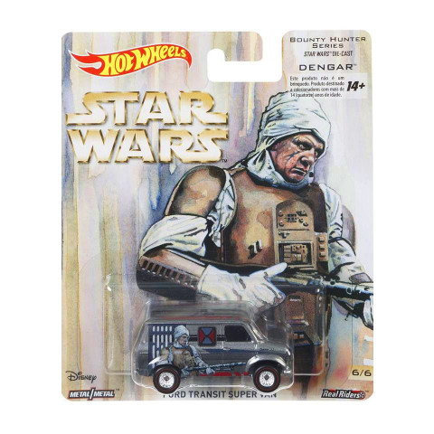 Hot Wheels - Ford Transit Super Van - Star Wars - Pop Culture