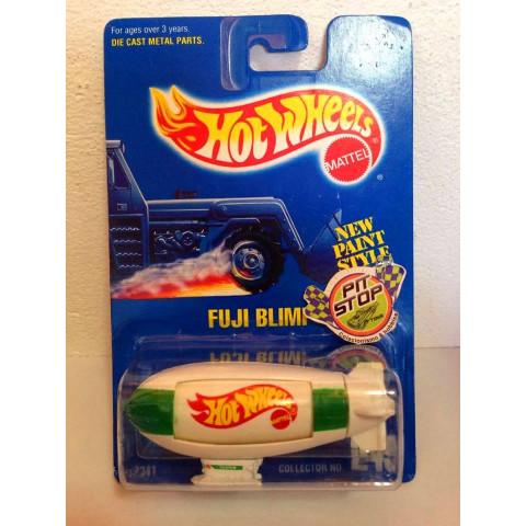 Hot Wheels - Fuji Blimp Branco - Mainline 1992