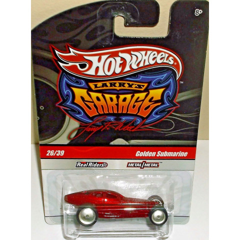 Hot Wheels - Golden Submarine Vinho - Garage