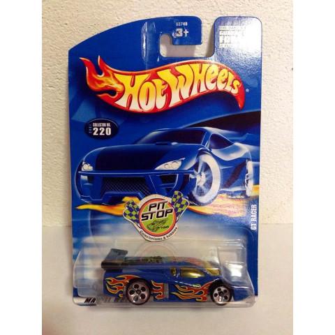 Hot Wheels - GT Racer Azul - Mainline 2001