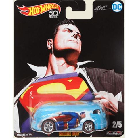 Hot Wheels - Haulin Gas Azul - Superman - DC Comics