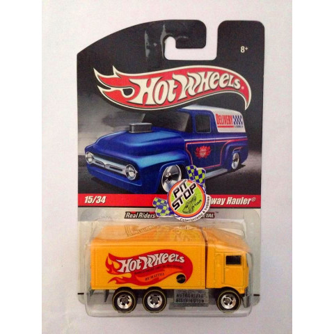 Hot Wheels - Hiway Hauler Amarelo - Delivery - LEIA