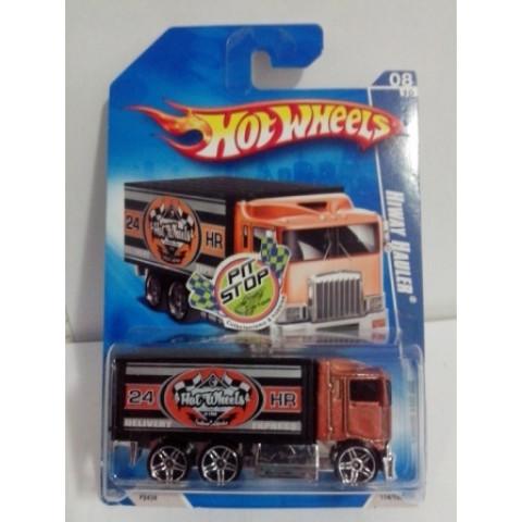 Hot Wheels - Hiway Hauler Bronze - Variação Walmart 2009