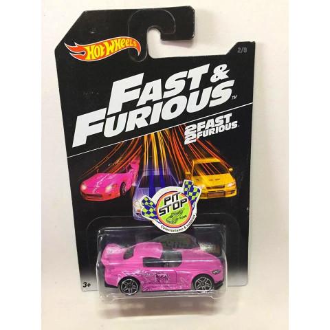 Hot Wheels - Honda S2000 Rosa - Fast & Furious - 2017