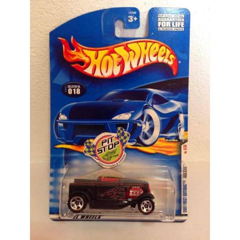 Hot Wheels - Hooligan Preto - Mainline 2001