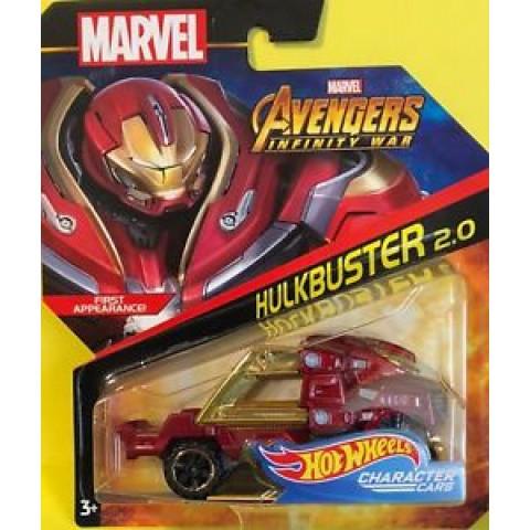 Hot Wheels - Hulkbuster 2.0 -  Avengers Infinity War  - Marvel