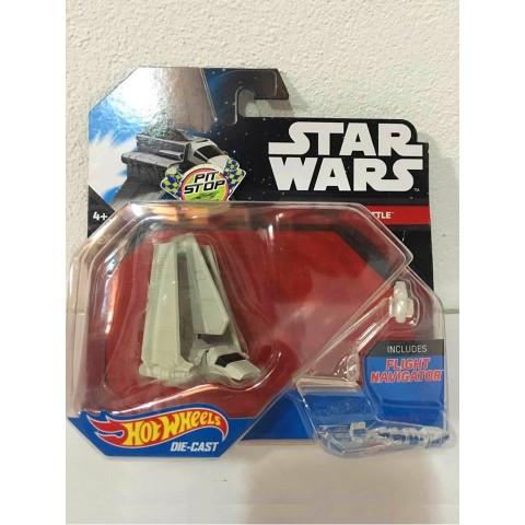 Hot Wheels - Imperial Shutle Branco - Star Wars