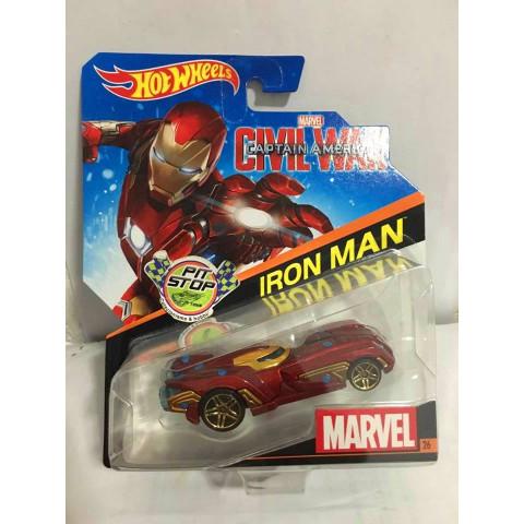 Hot Wheels - Iron Man - Civil War - Captain America - Marvel