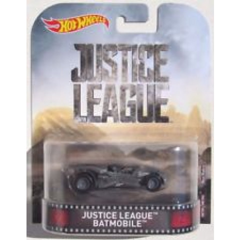 Hot Wheels - Justice League Batmobile - Liga da Justiça - Retro 2017
