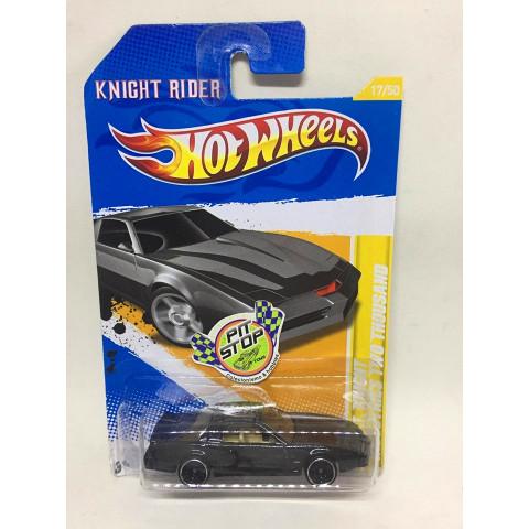 Hot Wheels - K.I.I.T Knight Industries Two Thousand Preto - Knight Rider - Mainline 2012