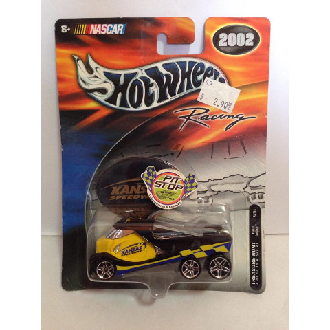 Hot Wheels - Kansas Speedway Amarelo - Racing - Nascar