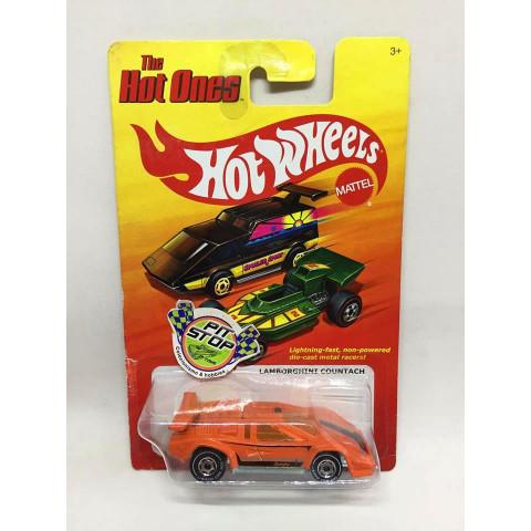 Hot Wheels - Lamborghini Countach Laranja - The Hot Ones - Chase **