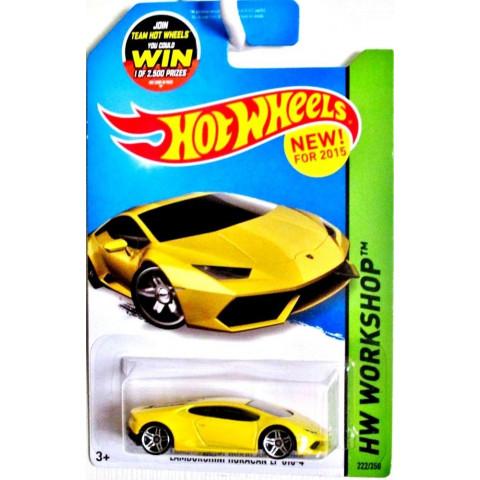 Hot Wheels - Lamborghini Huracan LP 610-4 Amarelo - Mainline 2015