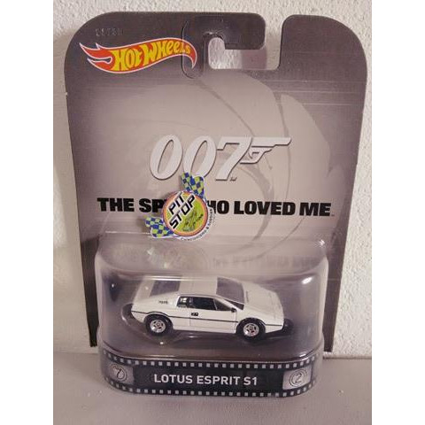 Hot Wheels - Lotus Esprit S1 - The Spy Who Loved Me - 007 - Retro