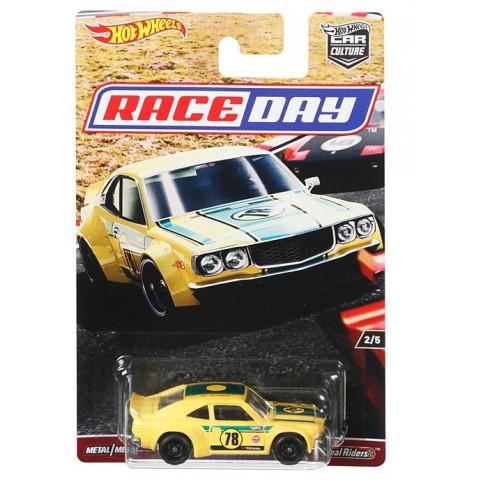 Hot Wheels - Mazda Rx3 - Race Day - Car Culture