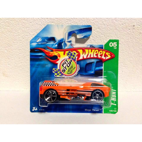 Hot Wheels - Mega Thrust Laranja - Treasure Hunt 2007