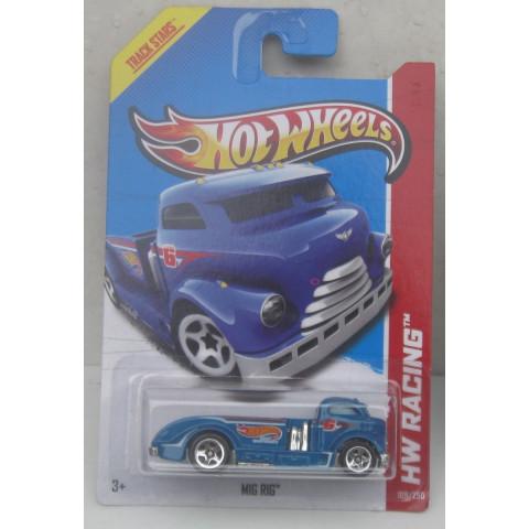 Hot Wheels - Mig Rig Azul - Mainline 2013