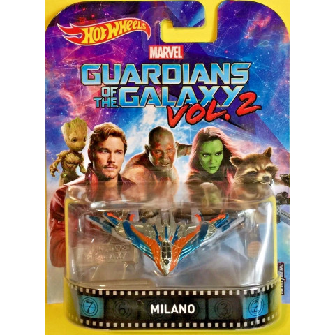 Hot Wheels - Milano - Guardiões of the Galaxy Vol 2 - Retro