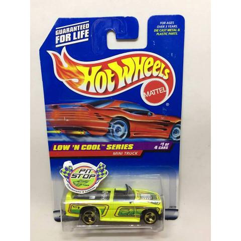 Hot Wheels - Mini Truck Amarelo - Mainline 1998
