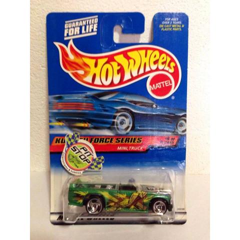 Hot Wheels - Mini Truck Verde - Mainline 2000