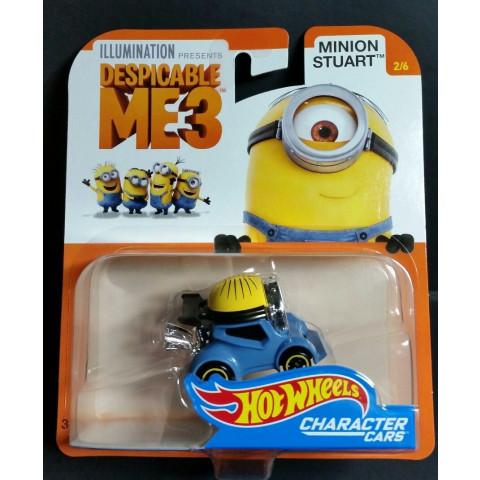 Hot Wheels - Minion Stuart - Despicable Me3 - Meu Malvado Favorito 3